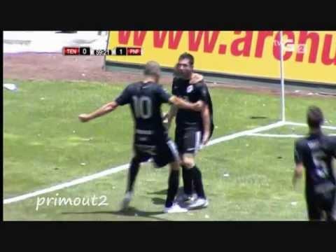 Goles S.D. Ponferradina al Tenerife Fase Ascenso 2ª División Junio 2012
