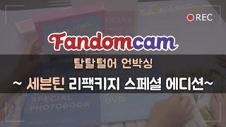 [ENG Sub][팬덤캠] 세븐틴 1집 리패키지 스페셜에디션 개봉기!! / SEVENTEEN Repackage album Special edition DVD UNBOXING