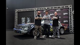 """CAR ZOMBIFIED by Mister Cartoon and West Coast Customs for the release of """"Army of the Dead"""""""