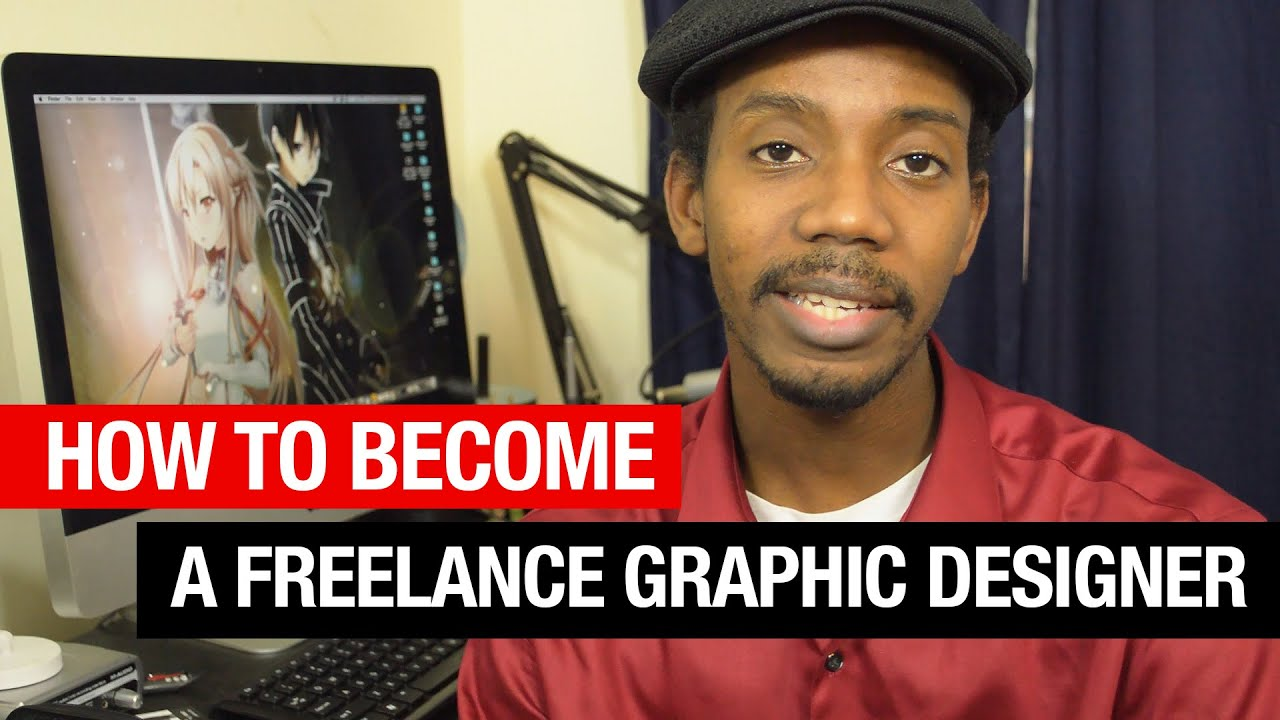 how to become a freelance graphic designer youtube