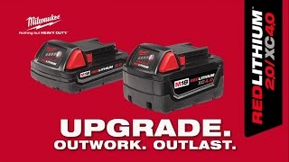 Milwaukee® M18 REDLITHIUM™ 2.0/XC4.0 Batteries
