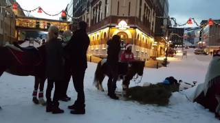 Christmas Time-Harstad City-Norway-December 10-2016.