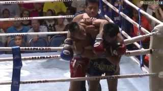 Muay Thai Fight - Yodvicha vs Littewada- New Lumpini Stadium, Bangkok, 10th November 2015