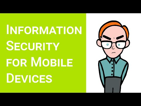 Information Security (smartphones, tablets and mobile devices)