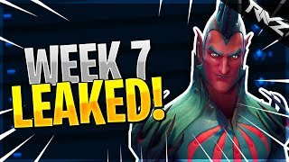 ALL WEEK 7 CHALLENGES LEAKED! FORTNITE TROLLING LEAKERS? (Fortnite Battle Royale Season 4 Week 7)