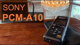 유튜버 시대의 필수품, 소니 보이스레코더 PCM-A10…