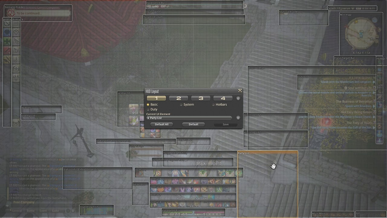 Final Fantasy XIV: Setting up Zeffuro's Visual Trackers