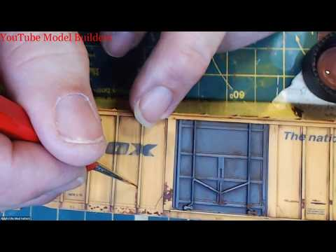 YouTube Model Builders is proud to present-Ralphs Weathering Work Bench to Mainline. February 27, 18