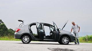 Renault Logan com novo motor no uso com Arnaldo Keller