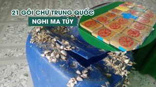 Sửng sốt vì tìm thấy 21 gói heroin có chữ Trung Quốc trôi trên biển Thừa Thiên - Huế