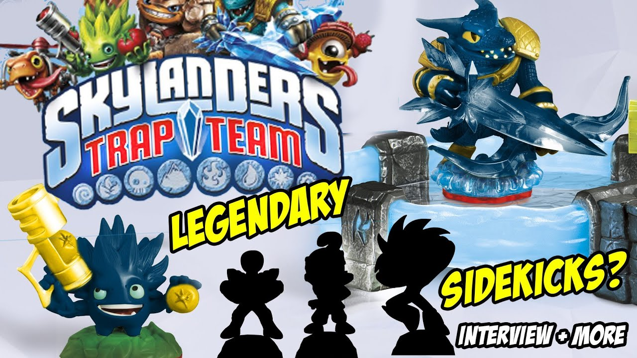 Uncategorized Skylanders Trap Team Videos skylanders trap team sidekicks legendary starter pack lightcores krankcase interview youtube