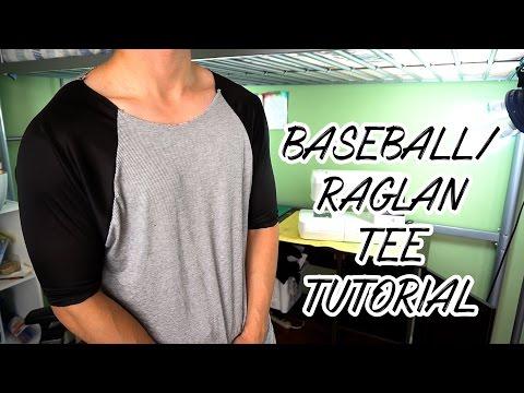 Raw Raglan/Baseball Tee Tutorial (Beginner Friendly)