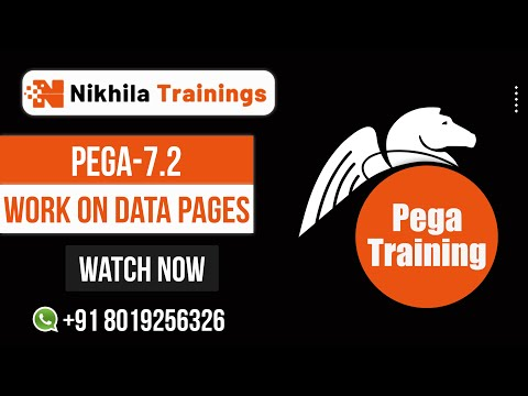 How to Work on Data Pages in Pega 7.2 -Pega training wats app 91 8019256326