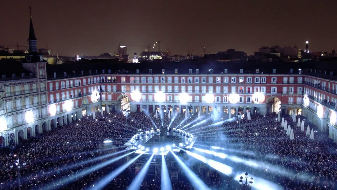 Videomapping IV Centenario de la Plaza Mayor de Madrid ...