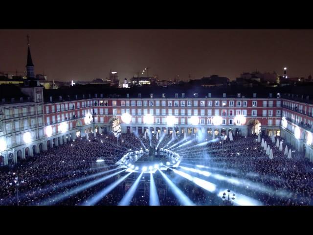 Videomapping IV Centenario de la Plaza Mayor de Madrid (versión completa)