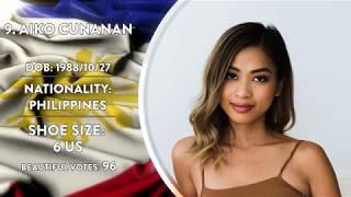 Most Beautiful feet - Philippines