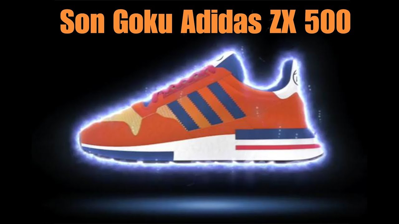 d2abdb174 Adidas x Dragon ball Z Son Goku ZX 500 ( Adidas is Trash ) - YouTube