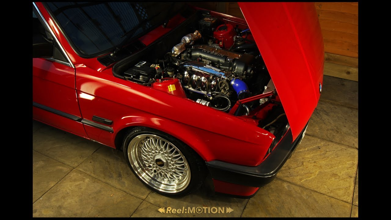 BMW E30-SR20DET - YouTube