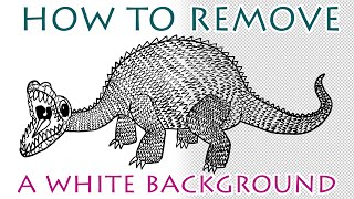 Photoshop Tutorial - How To Remove A White Background