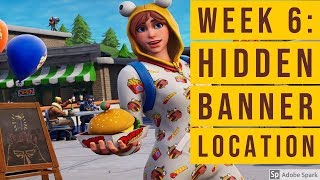 'Fortnite' EASY Guide: Week 6 Hidden Banner Location | SEASON 7