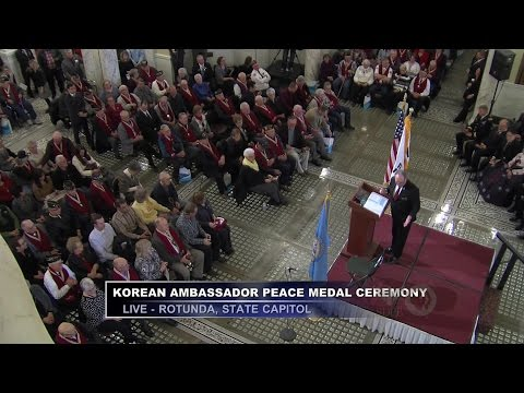 Honoring South Dakota's Korean War Vets - Korean Ambassador's Peace Medal