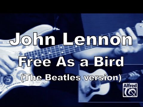 "How to Play ""Free as a Bird"" by John Lennon on Guitar - Lesson Excerpt"