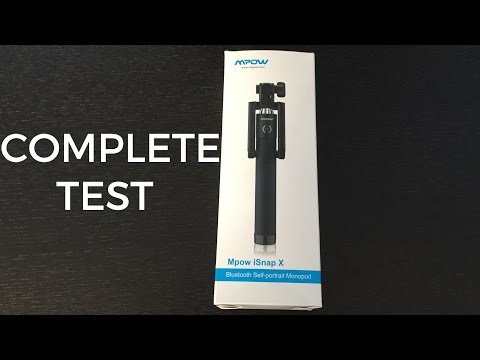 Mpow iSnap X Bluetooth Selfie Stick Review!