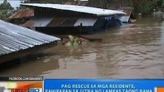 ntg pag rescue sa mga residente sa butuan pahirapan sa gitna ng lampas taong baha