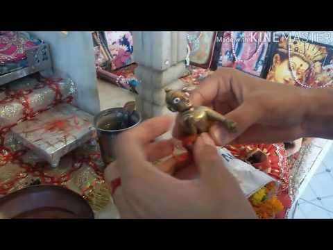 किया आप के घर में गोपाल जी है तो ये विडियो आपके लिए है How to make krishna(kana ji )shirngar make up