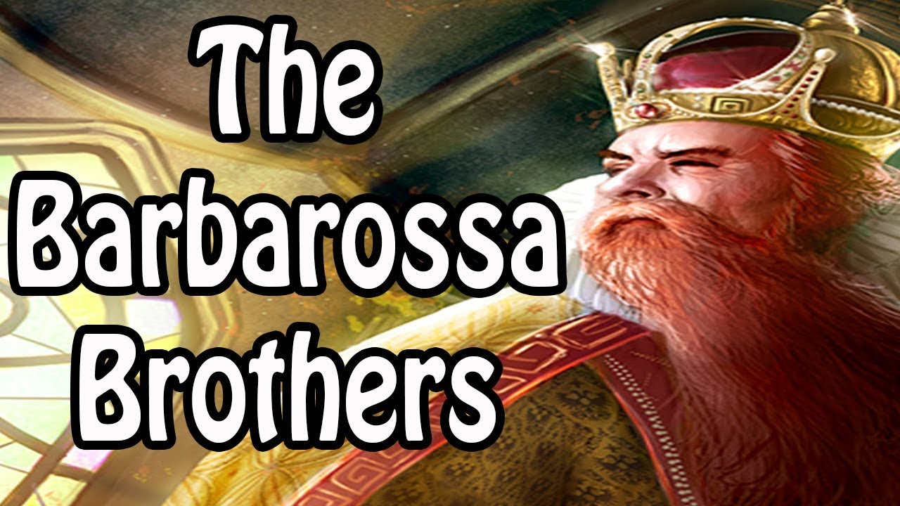 The Barbarossa Brothers: The Reign of Oruç and Khizr (Pirate History Explained)