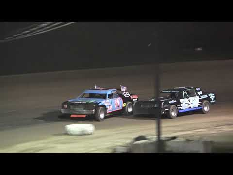 Hobby Stock Feature Race at Mt. Pleasant Speedway, Michigan on 06-07-2019!!