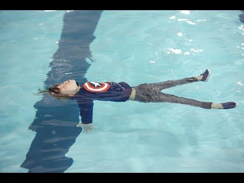 Survival Swimming Training for Infants