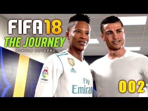 Respekt Von Ronaldo?! 🔥⚽ FIFA18 - The Journey 2: Hunter Returns #002 [Gameplay German┊Deutsch]
