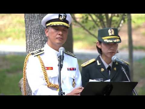 South Korean President Moon Jae-in visits the Marine Corps Museum