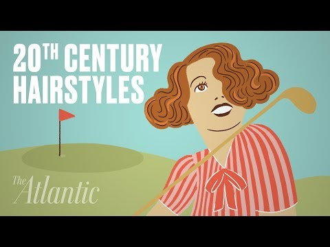 An Animated History of 20th-Century Hairstyles