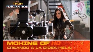 Thor: Ragnarok de Marvel | Making of: creando a la diosa Hela | HD