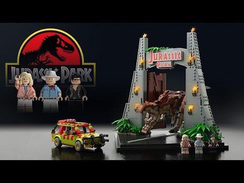 LEGO Jurassic World Set Rumors 2015 - YouTube