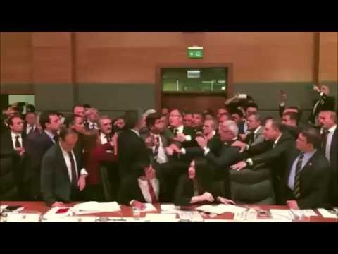 Turkish Parliament Brawl: Bury Your Dead Edition