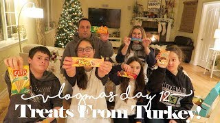 Treats From Turkey!  |  VLOGMAS Day 12