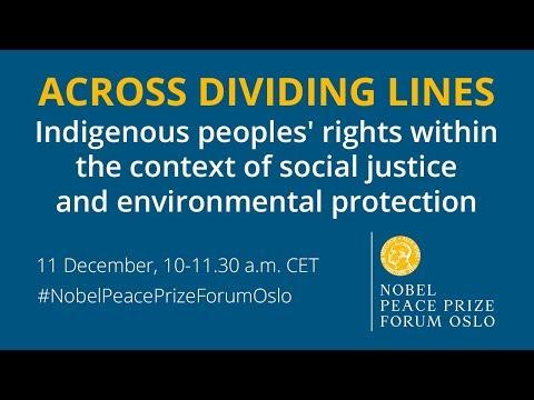 2017 Nobel Peace Prize Forum Oslo: Across Dividing Lines (English interpretation)