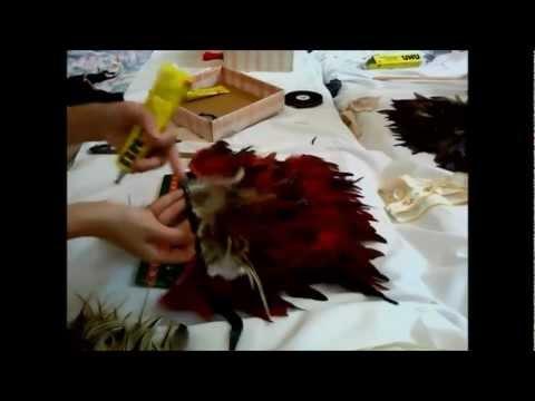 How To Make A Native American Headdress ( Sue Yii )