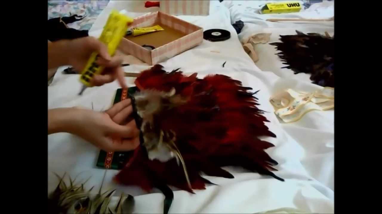 How to make a Native American Headdress ( Sue Yii ) - YouTube