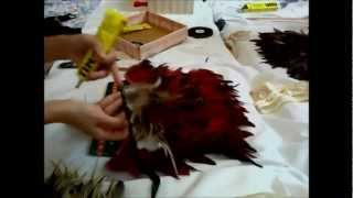 How to make a Native American Headdress ( Sue Yii )