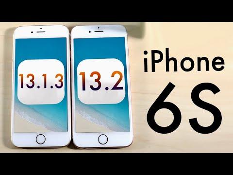 iPhone 6S: iOS 13.2 Vs iOS 13.1.3! (Speed Comparison)