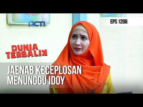 DUNIA TERBALIK - Jaenab Keceplosan Kalau Dia Sedang Menunggu Idoy [24 November 2018]