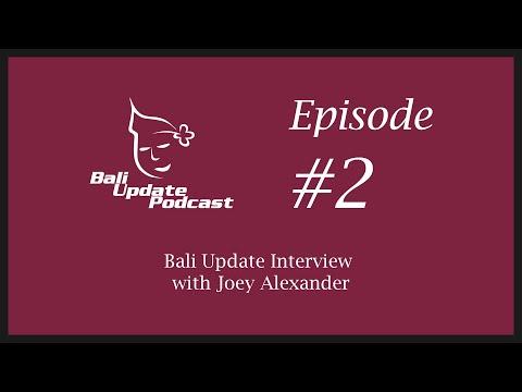 Bali Update Interview with Joey Alexander