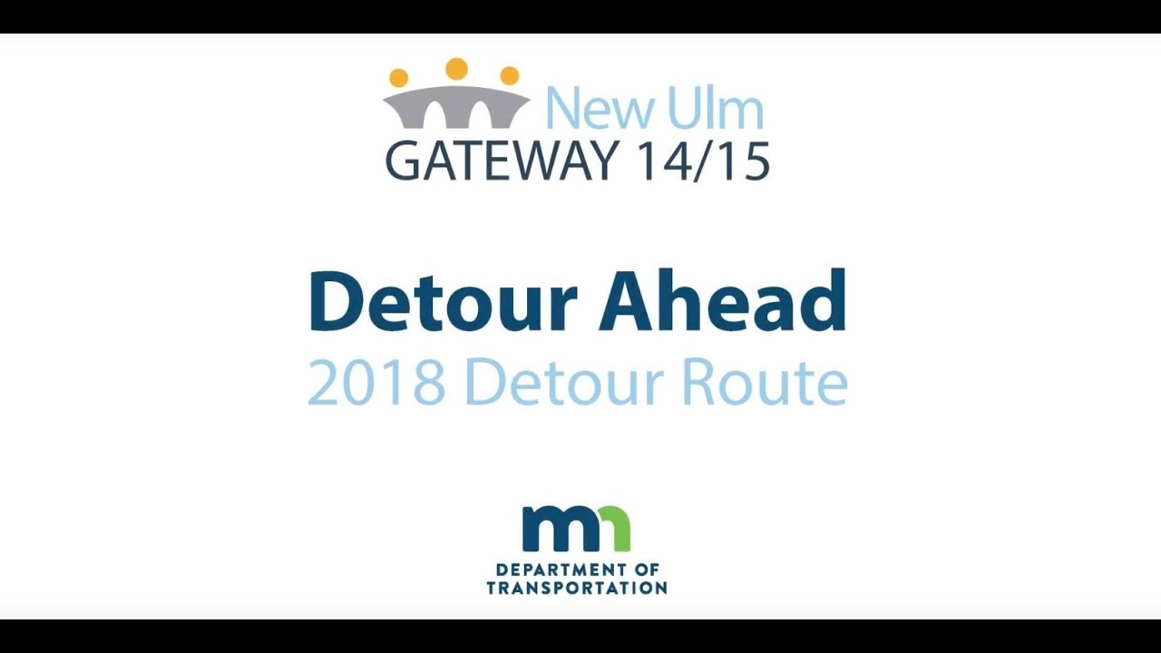 New Ulm Gateway 14/15 - Road Construction Updates - City of