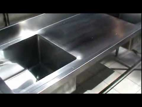 Lavaplatos de acero inoxidable a excelentes precios for Pilas de acero inoxidable