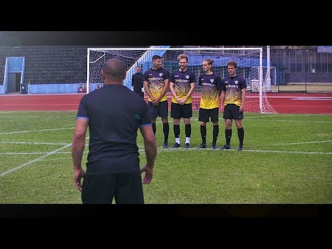 freekickerz vs Roberto Carlos ⚽ Free Kick Shootout