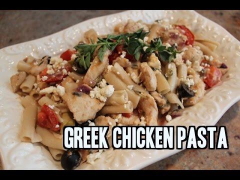 Greek Chicken Pasta Recipe